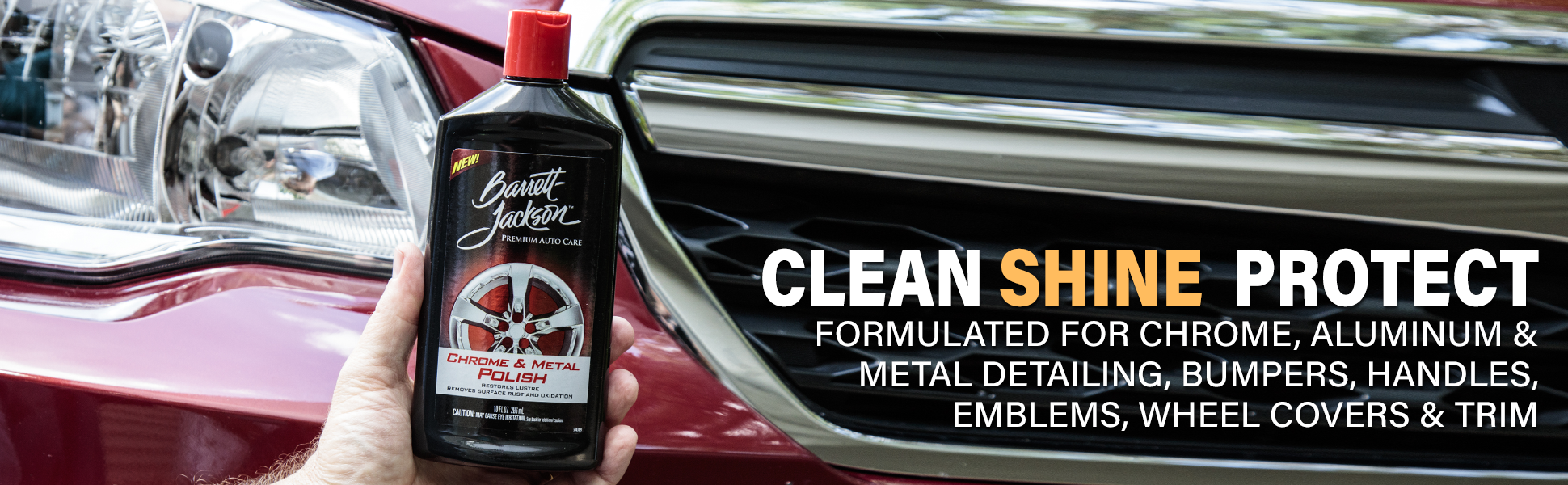 how to polish metal to look like chrome