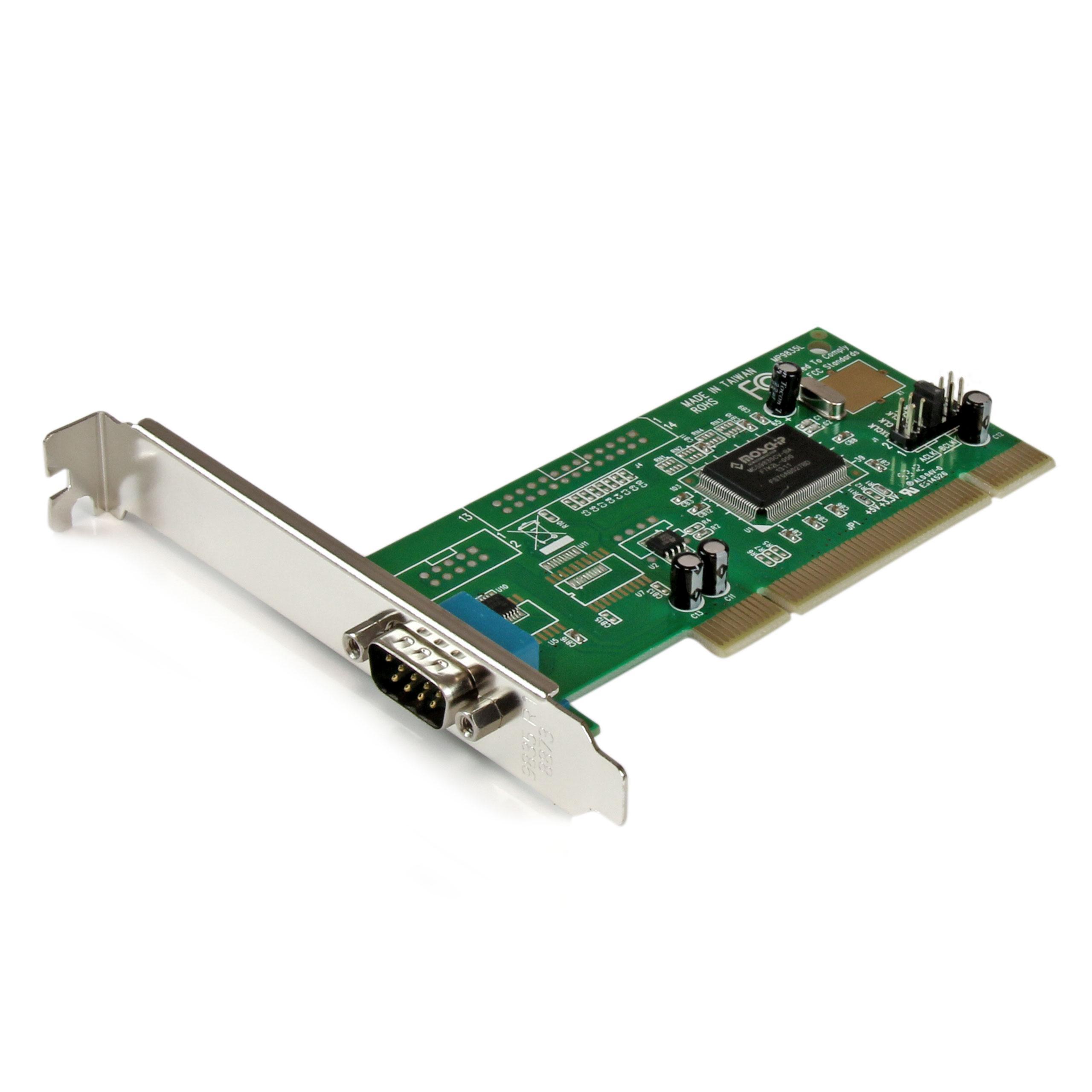 Amazon.com: StarTech.com 2 Port PCI RS232 Serial Adapter ...