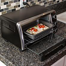Amazon Com Ecolution Bakeins 4 Piece Toaster Oven