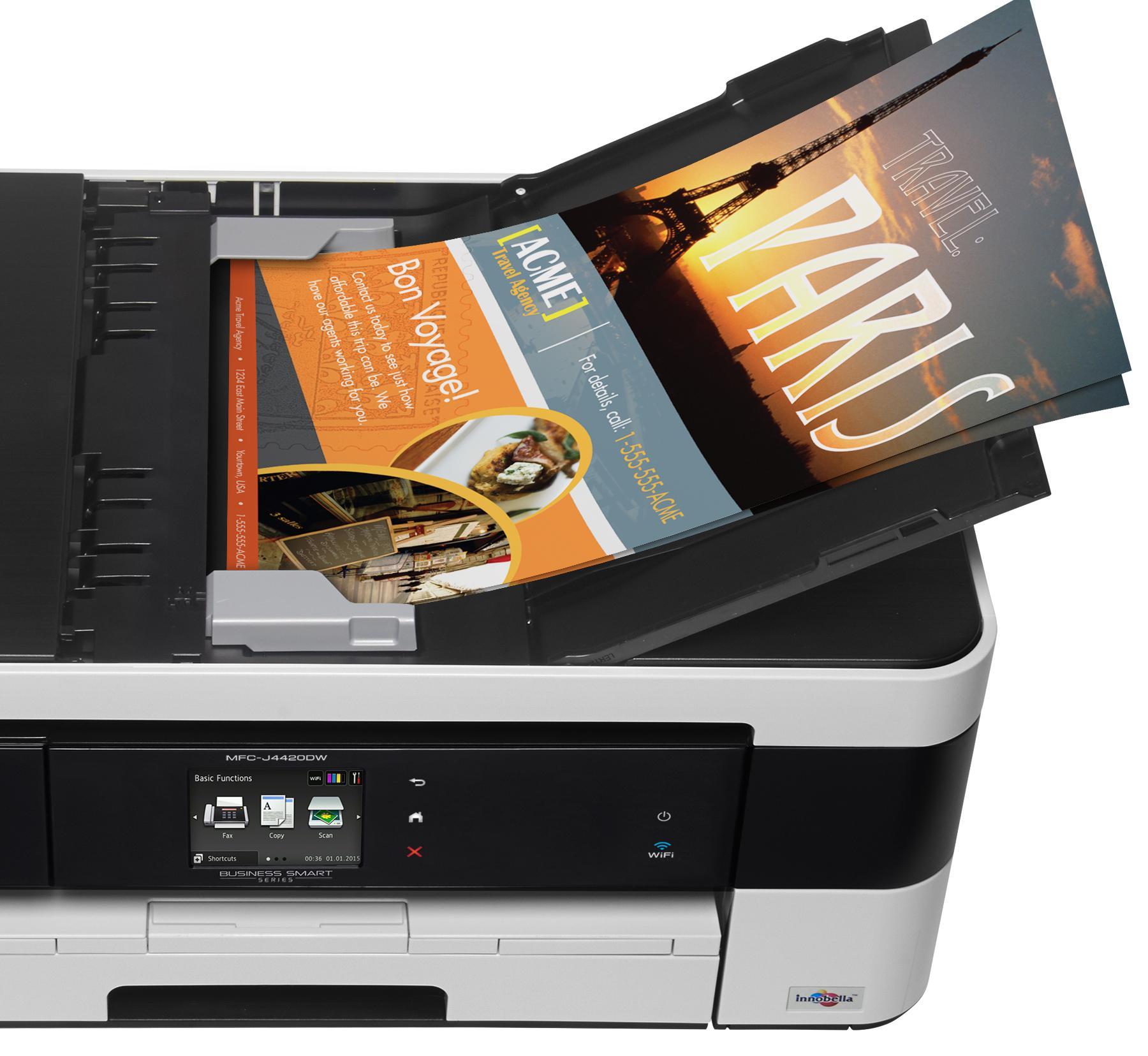 amazon com brother printer mfcj4420dw wireless color inkjet all