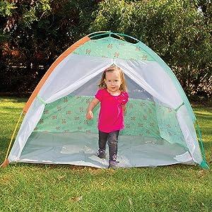 play, tent, cabana, kids