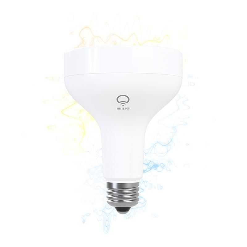 lifx smart led light bulb wi fi white 900 br30 dimmable works with amazon alexa. Black Bedroom Furniture Sets. Home Design Ideas