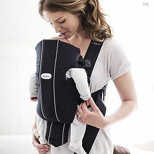 Amazon.com : BABYBJORN Baby Carrier Original, Black, Cotton ...
