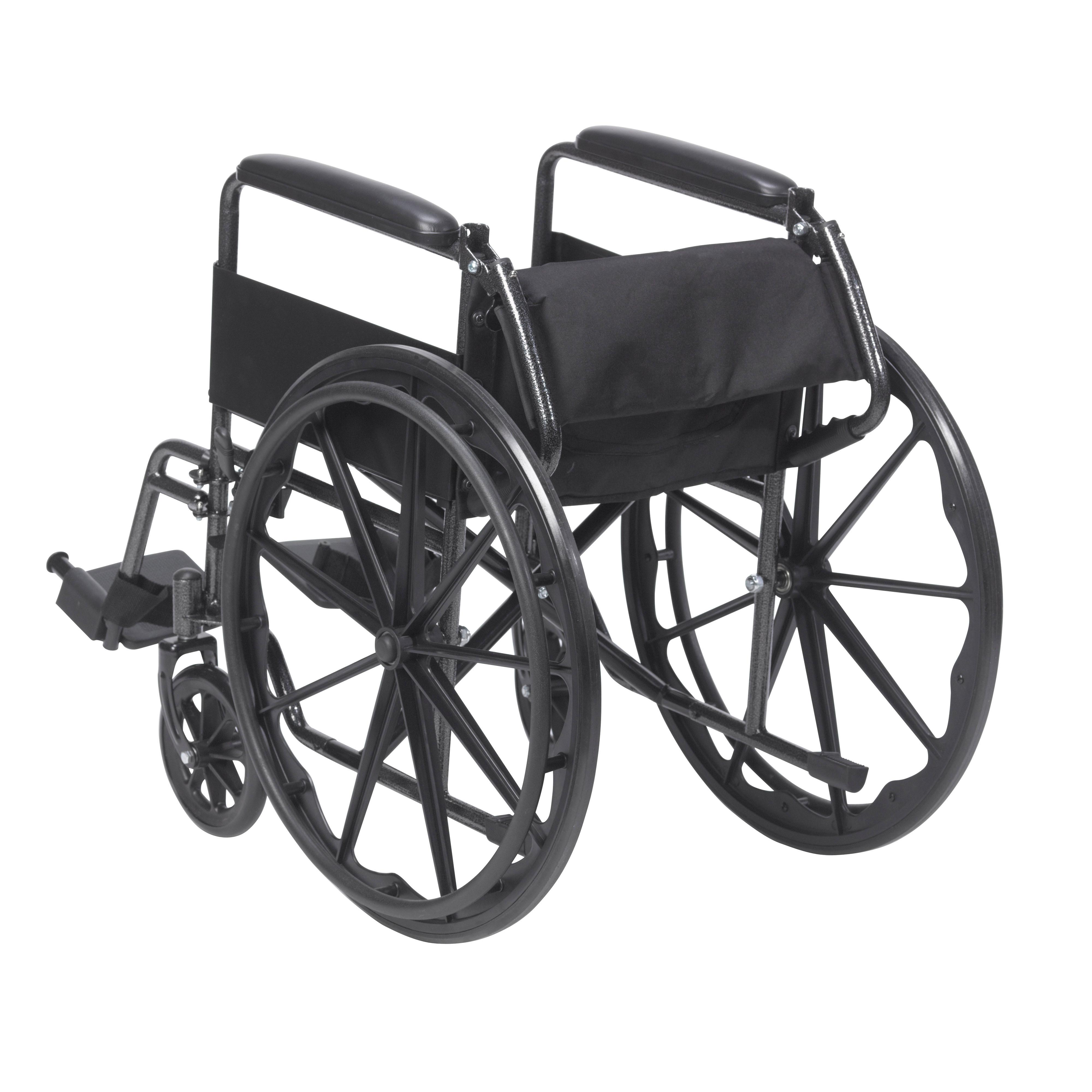 amazon com drive medical silver sport 1 wheelchair with full arms