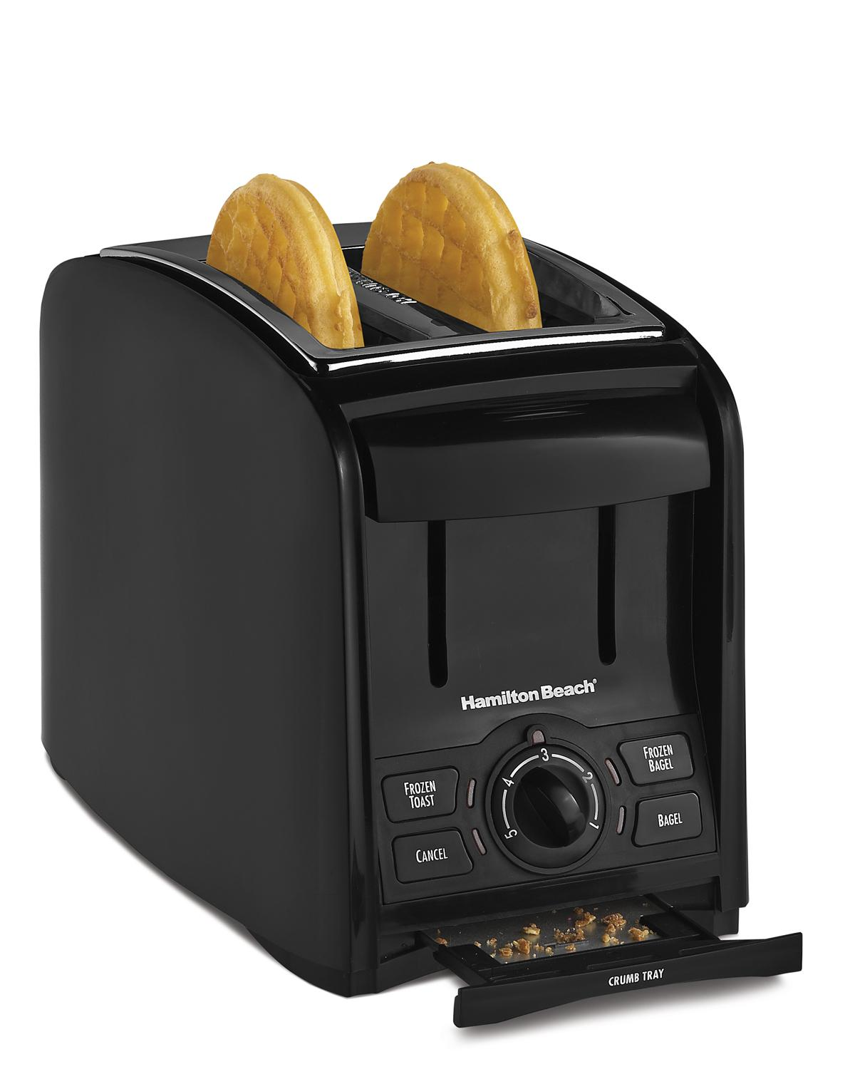 Amazon.com: Hamilton Beach 4 Slice Cool Touch Toaster (24121 ...