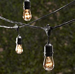 Industrial Outdoor String Lights: Outdoor Ambience:,Lighting