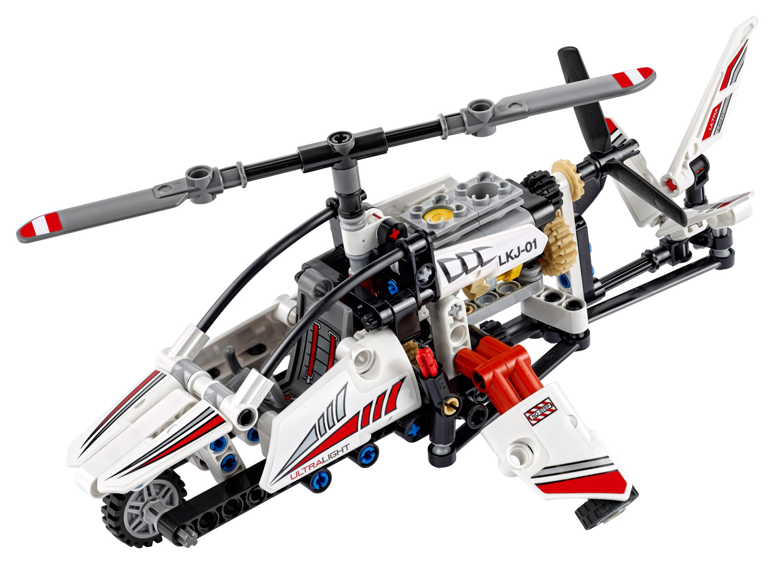 lego technic ultralight helicopter 42057 advance building set toys games. Black Bedroom Furniture Sets. Home Design Ideas