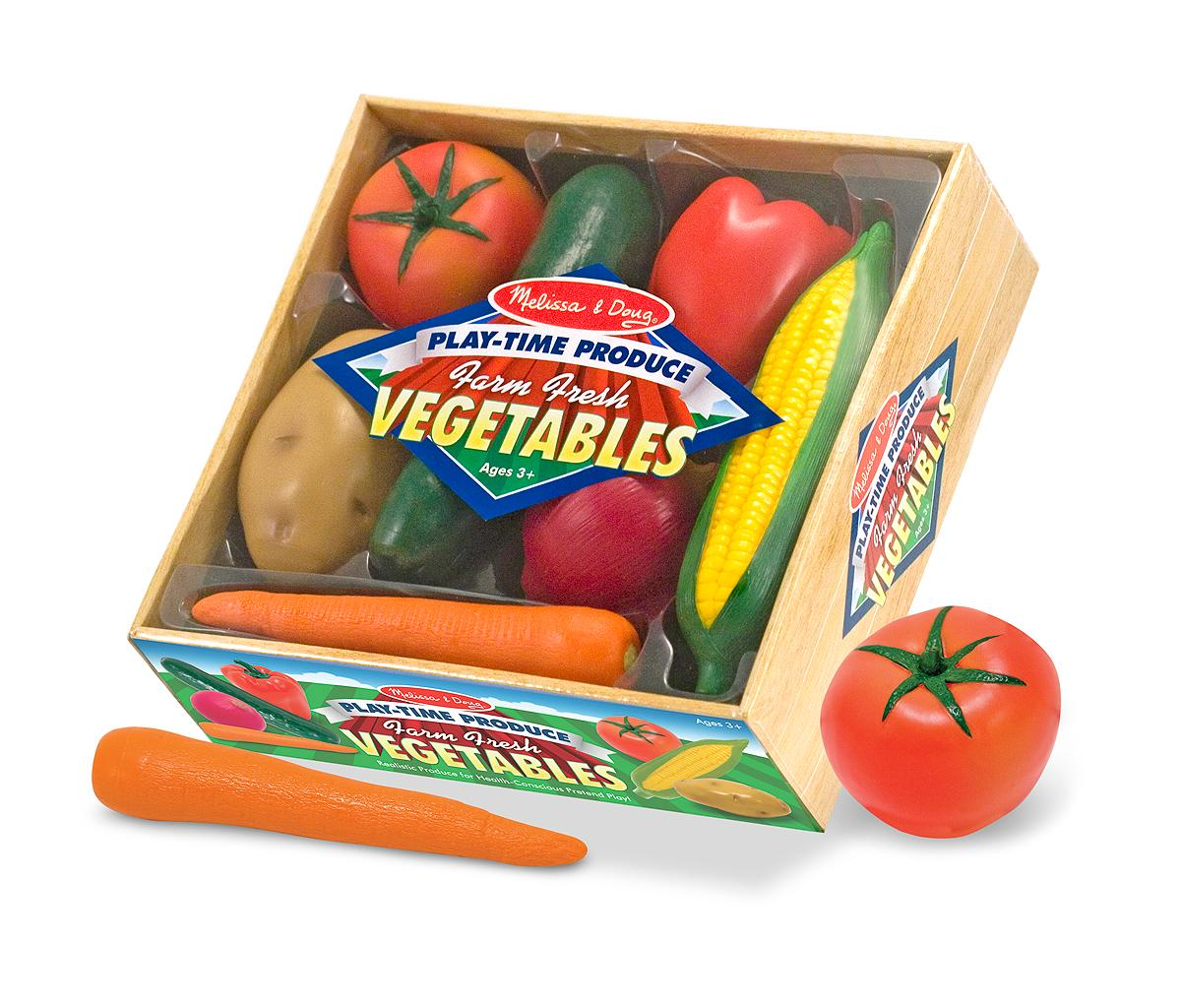 Melissa And Doug Toys : Amazon melissa doug playtime produce vegetables