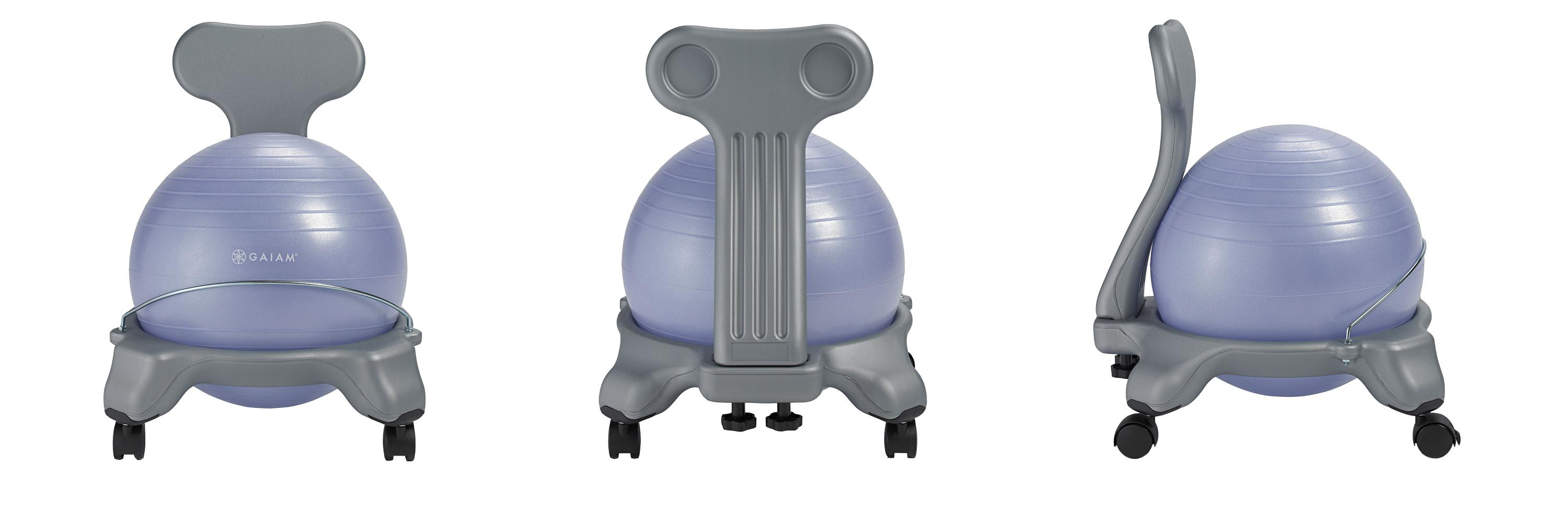 Amazon Com Gaiam Kids Balance Ball Chair Classic