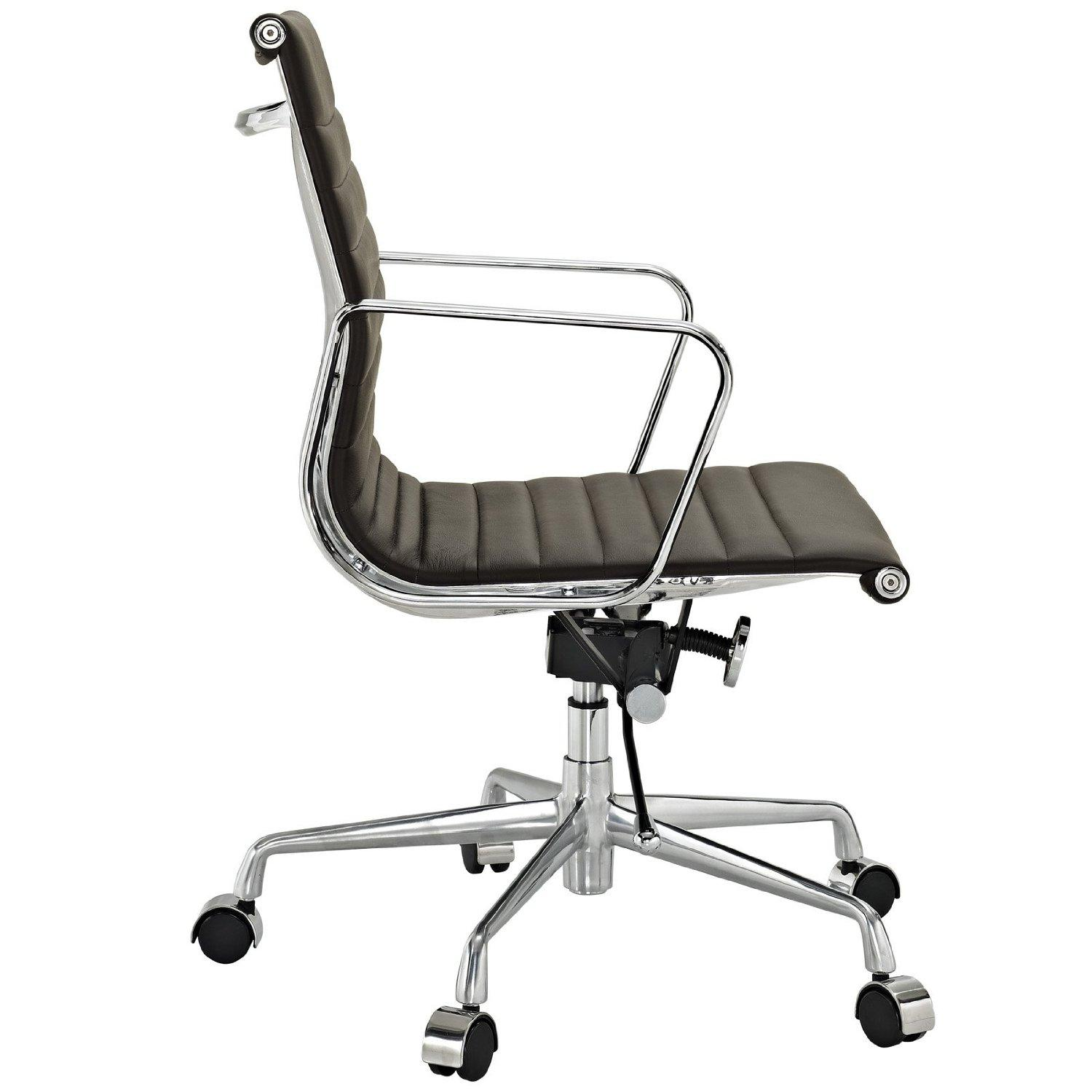 mid aluminum office chair white italian. view larger mid aluminum office chair white italian