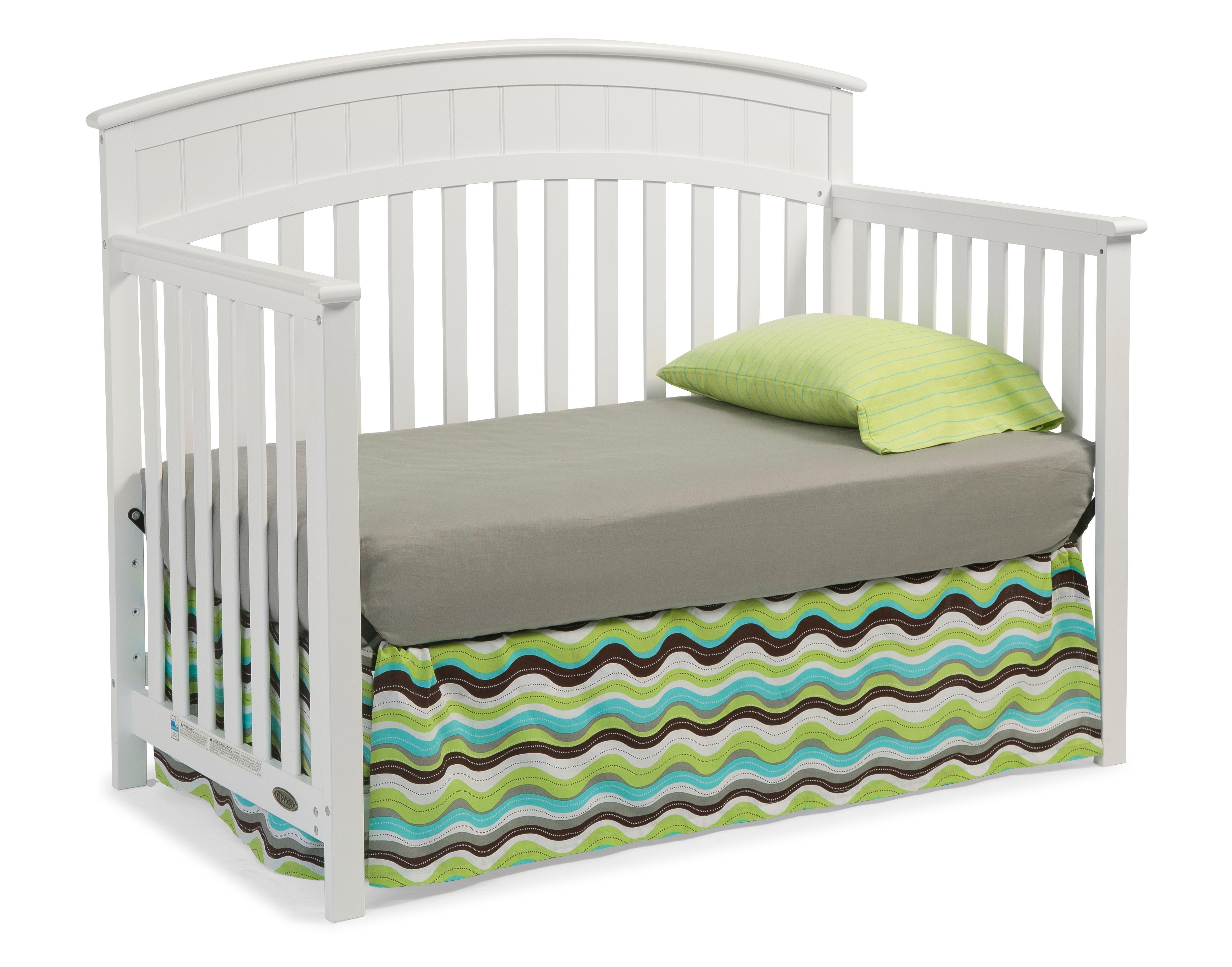 Amazon Com Graco Charleston Convertible Crib White Baby