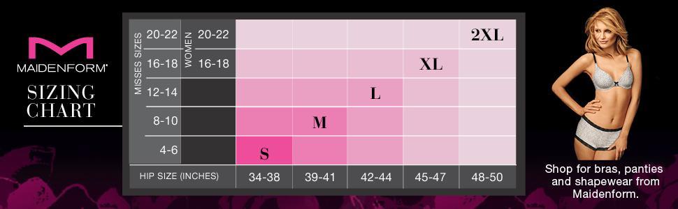 19 Fresh Maidenform Shapewear Size Chart