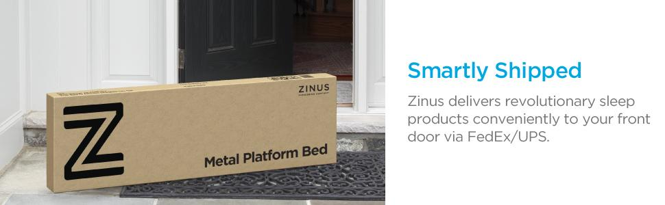 Amazon Com Zinus Lorrick Quick Snap Tm 18 Inch Platform