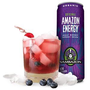 Amazon Com Sambazon Amazon Energy Drink Original Acai