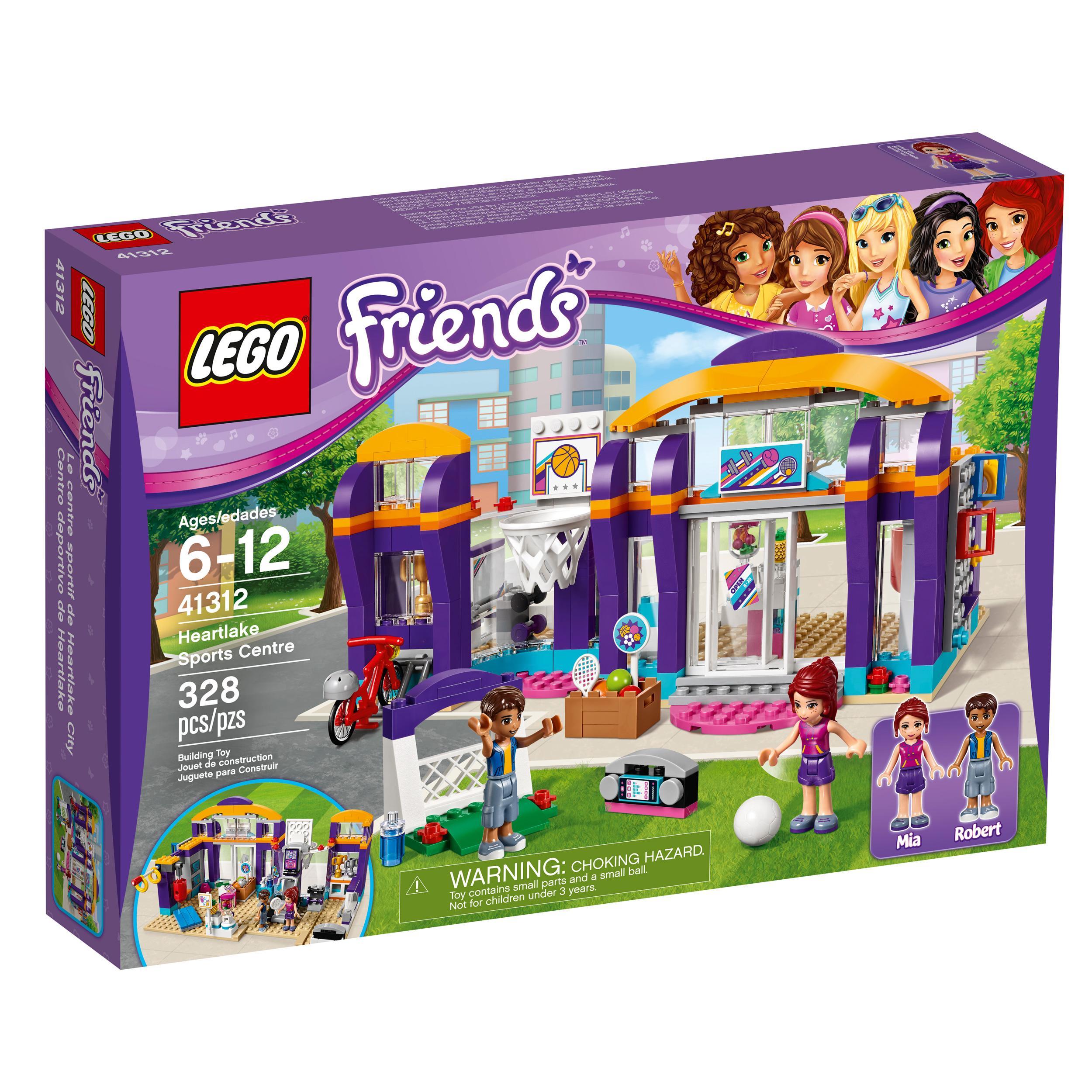 Toys For Legos : Amazon lego friends heartlake sports centre