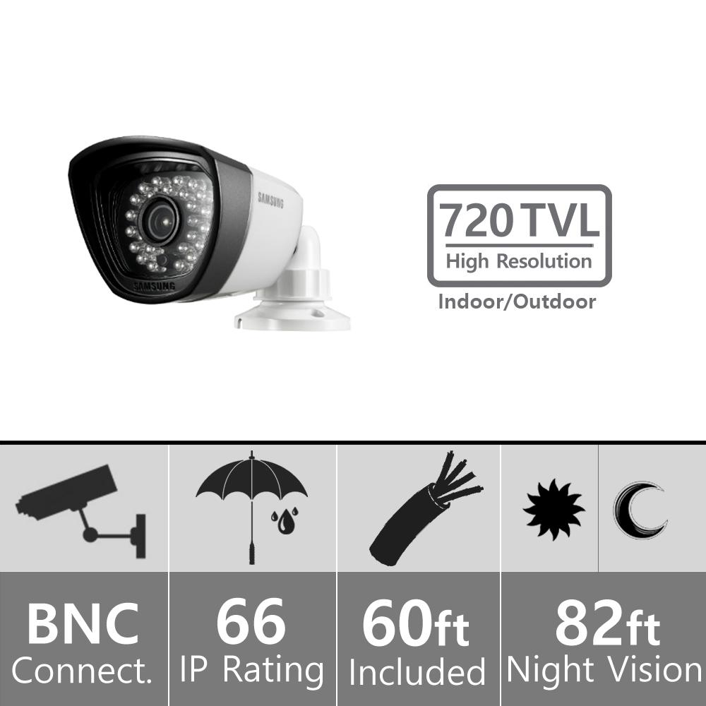 Samsung Sdc 7340bc Security Camera Wiring Diagram Trusted Night Vision Amazon Com Weatherproof