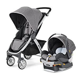 Amazon Com Chicco Bravo Trio Travel System Lilla Baby