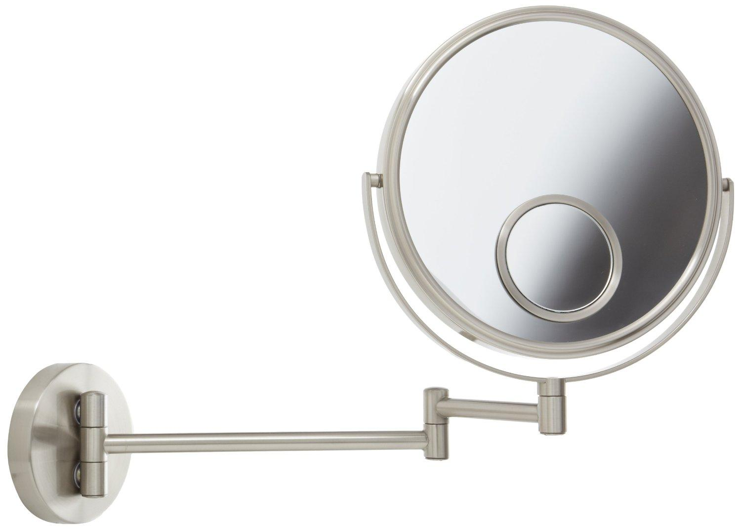 View larger - Amazon.com : Jerdon JP7510N 8-Inch Wall Mount Makeup Mirror With