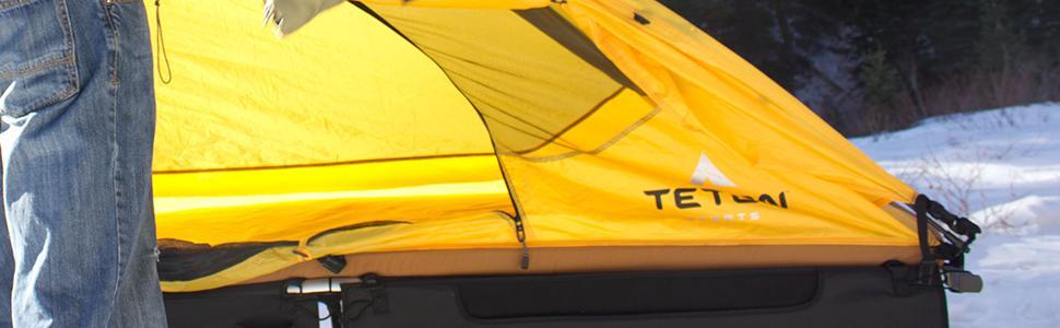 Teton sports outfitter xxl quick tent 1 man for Fast set gartenpool xxl