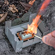 Solid fuel cubes are easy to light, burn clean, and are waterproof. Solid fuel, emergency prep