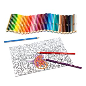 Crayola - Colored Pencils (50 count) - Available Colors