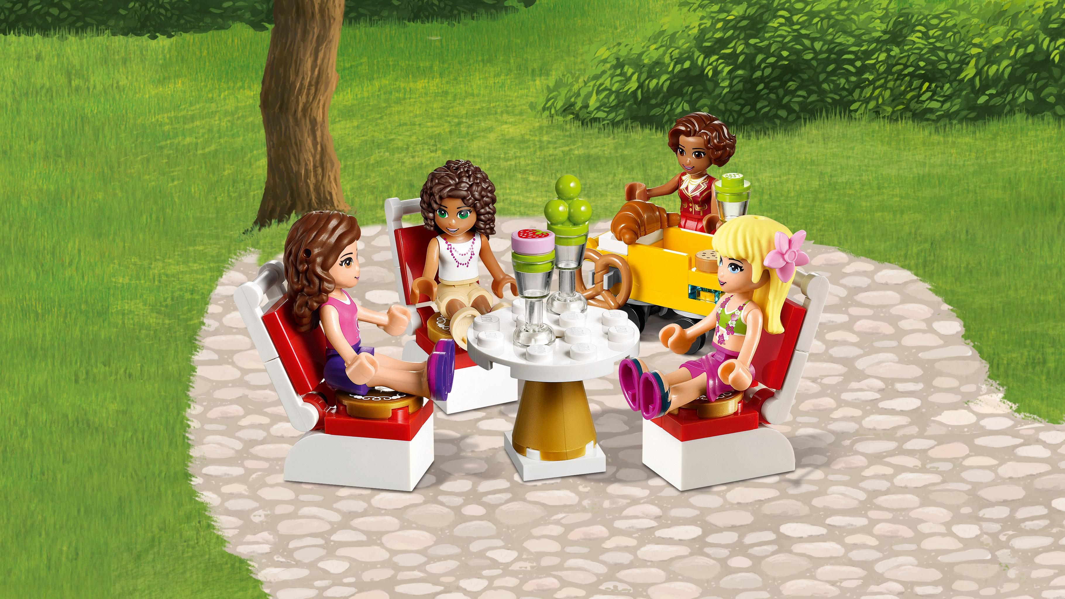 Amazon Com Lego Friends Heartlake Grand Hotel 41101
