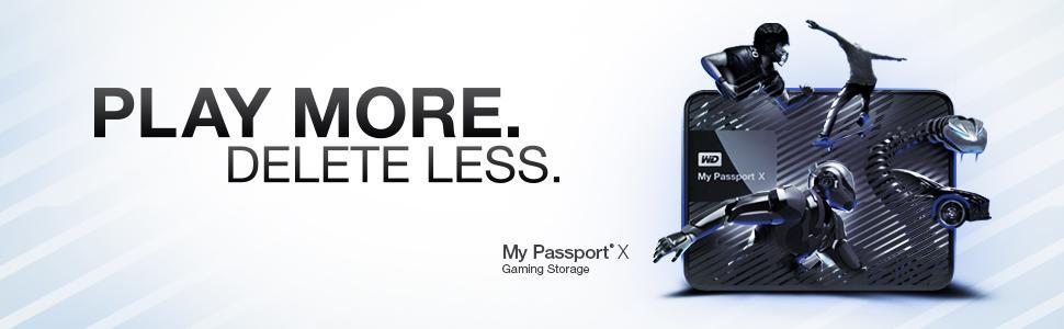 Amazon.com: WD 2TB My Passport X for Xbox One Portable