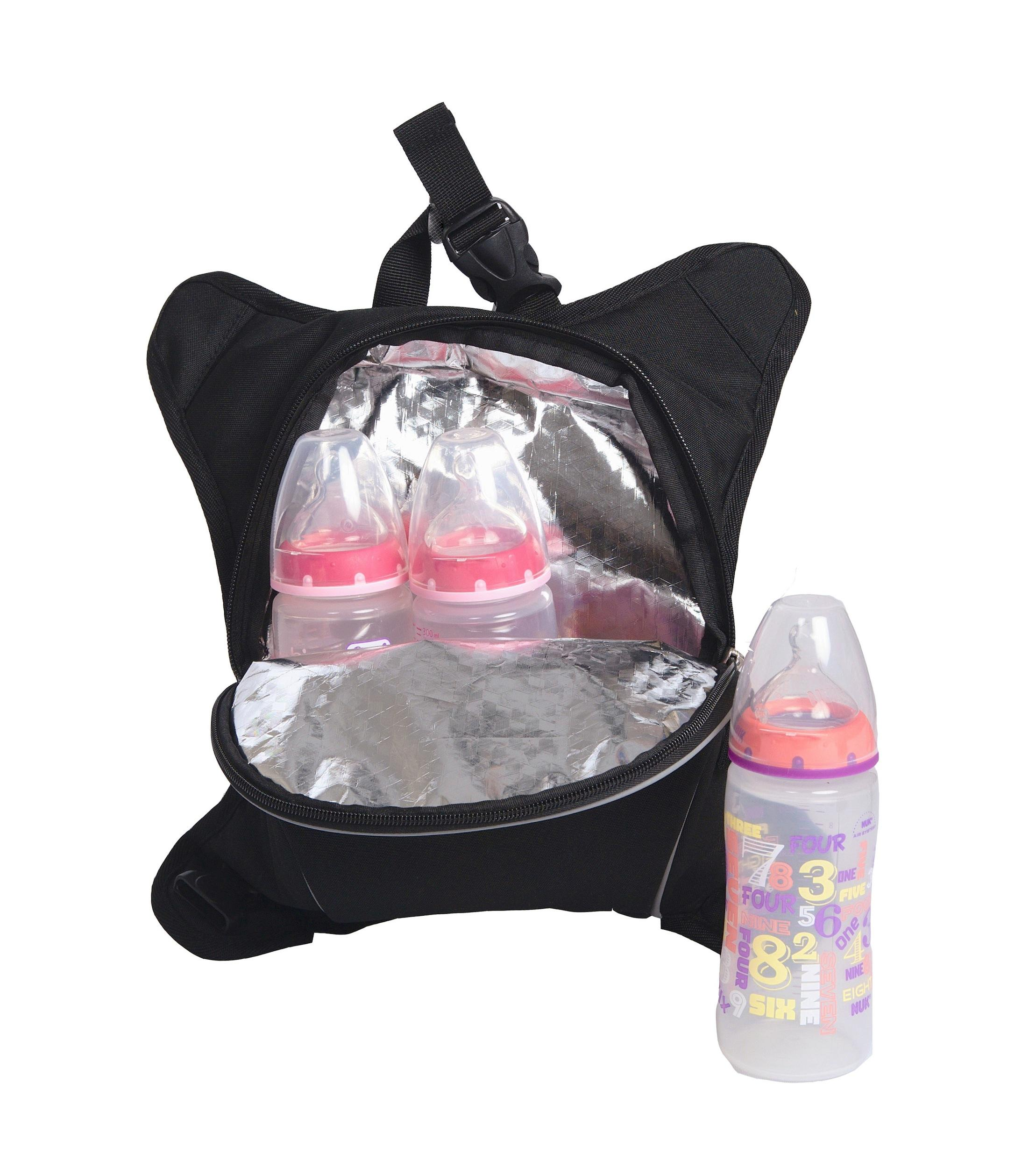 Amazon Obersee Baby Bottle Cooler Attachment Black Baby