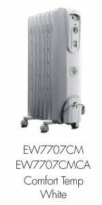 Amazon Com Delonghi Ew7707cb Safe Heat 1500w Comfortemp