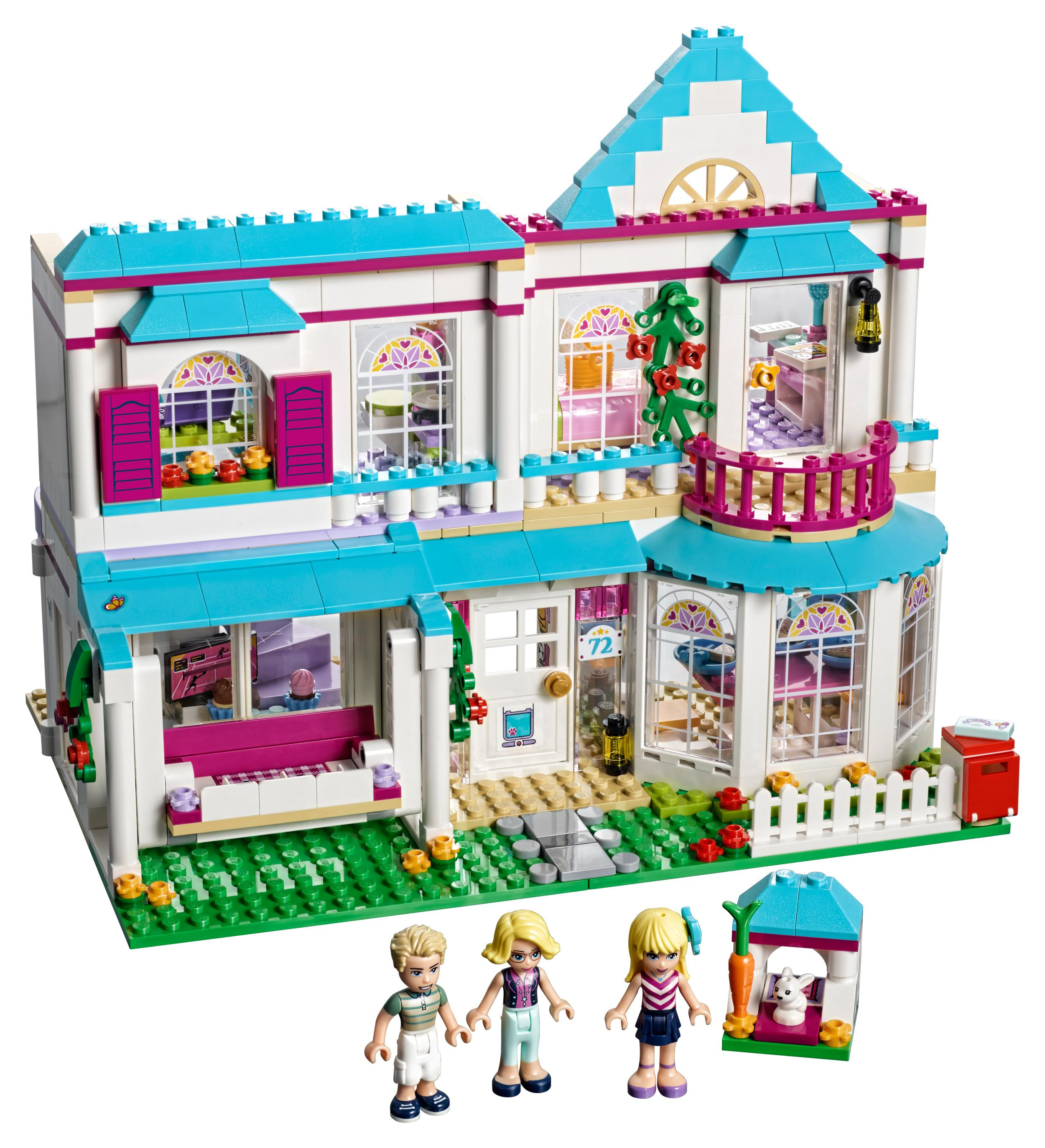 Lego friends stephanie 39 s house 41314 toy for 6 for Kitchen set for 9 year old