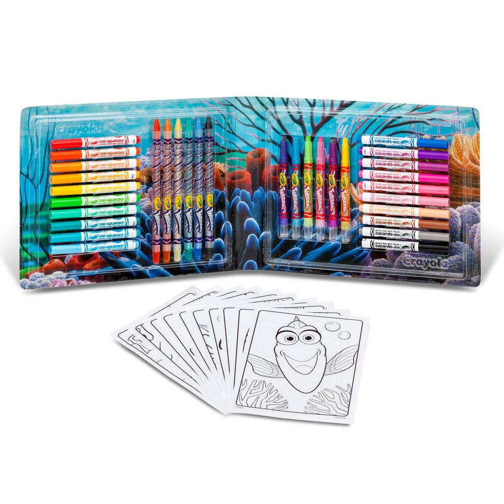 Amazon.com: Crayola Finding Dory Art Kit: Toys & Games