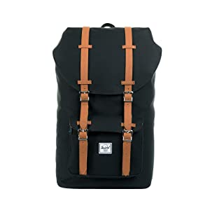 20a193dbd29 Amazon.com   Herschel Little America Backpack-Black   Casual Daypacks