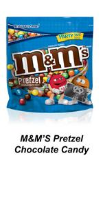 Bring M&M'S Pretzel Chocolate Candy in a party size bag to share with your friends and family.