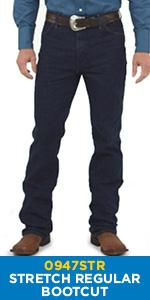 Wrangler Boot Cut Stretch Regular Fit Jean 0947STR
