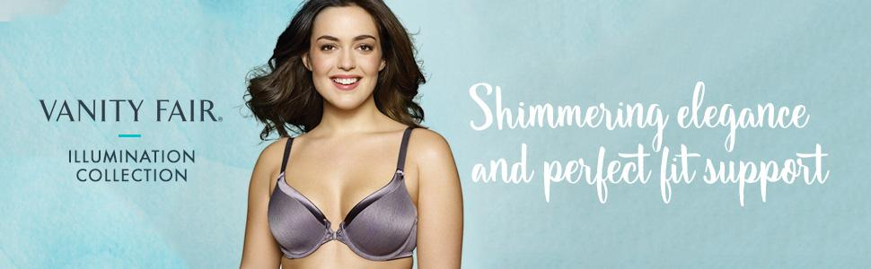 Illumination Collection, Full Coverage, Bra, Support, Satin, Padded Cups