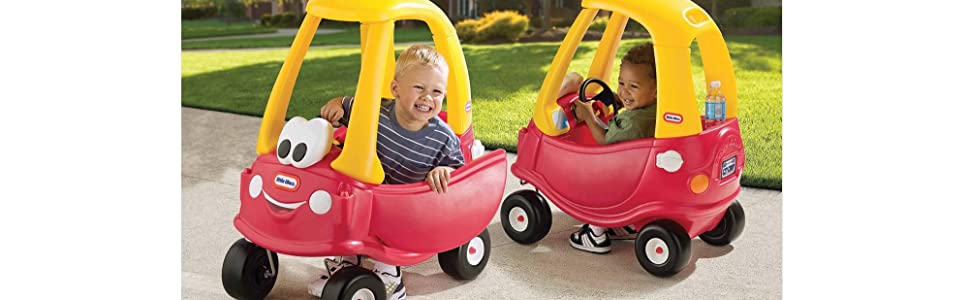 Little tikes cozy coupe 30th anniversary car not for Little tikes motorized vehicles