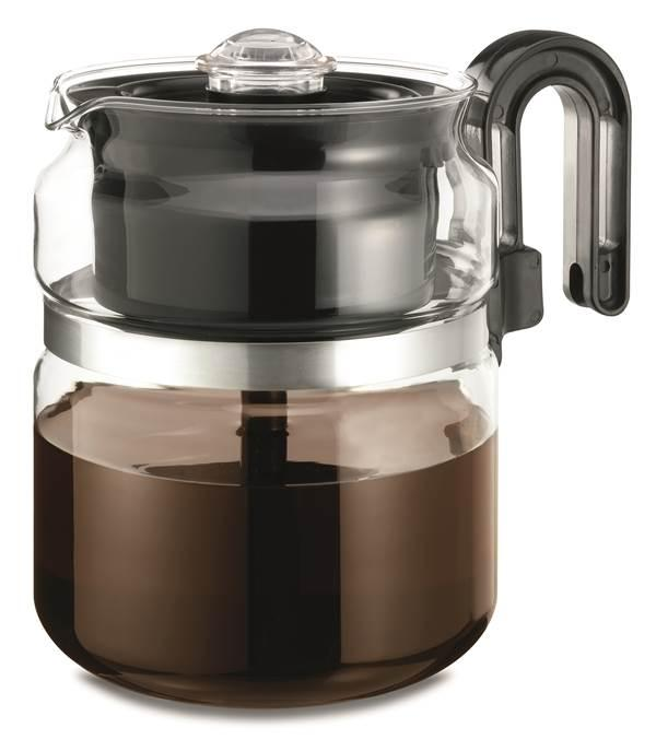 Large Electric Coffee Maker : Amazon.com: Medelco 8 Cup Glass Stovetop Percolator: Electric Coffee Percolators: Kitchen & Dining