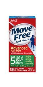 Move Free Glucosamine Chondroitin Plus MSM