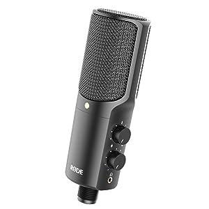 Amazon Com Rode Nt Usb Usb Condenser Microphone Musical