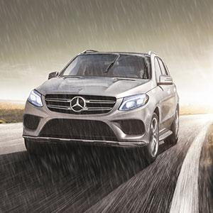 The GLE invites five adults to enjoy generous room and gracious comfort. Itll welcome over 80 cu ft of cargo with a standard power liftgate and 60/40 ...