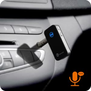 Car Kits Wide compatibility: Bluetooth 4.0 Receiver compatible with most smartphones and Bluetooth