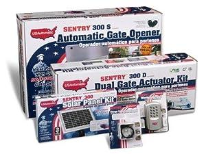 Usautomatic 020345 Medium 300 Solar Charged Automatic Gate