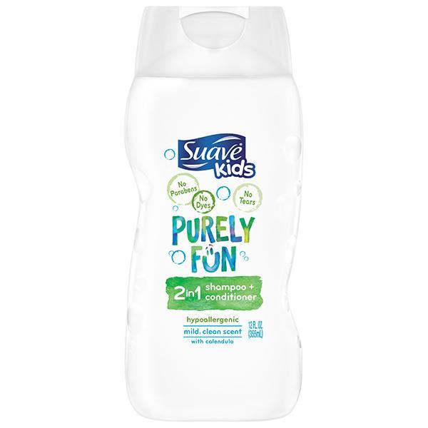 Suave Kids Purely Fun  In  Shampoo Conditioner