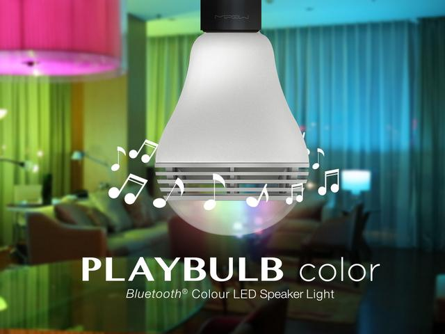Playbulb Color Rgb Colo Light Blub With Speakres And App