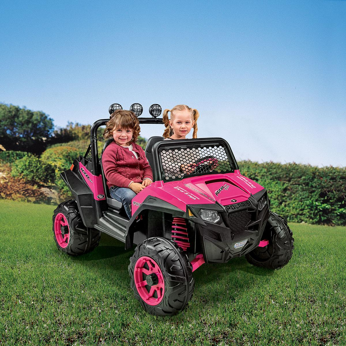 peg perego polaris rzr 900 ride on pink toys. Black Bedroom Furniture Sets. Home Design Ideas
