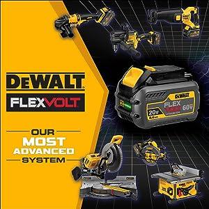 DEWALT DCK299D1T1 FLEXVOLT 60V MAX / 20V MAX Lithium-Ion XR Brushless  Hammerdrill and Impact Combo Kit