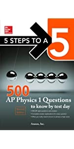 Amazon 5 steps to a 5 500 ap physics 1 questions to know by guide type test fandeluxe