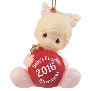 """Amazon.com: Precious Moments, Baby\'s First Christmas 2016"""", Baby ..."""