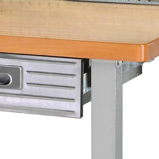 Seville Bench: Seville Classics Lighted Hardwood Heavy Duty Top Workbench