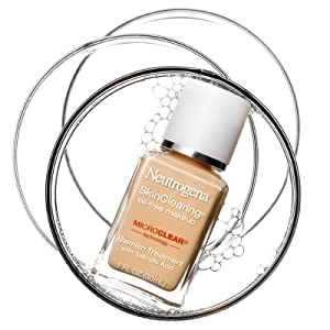Neutrogena SkinClearing Liquid Makeup: